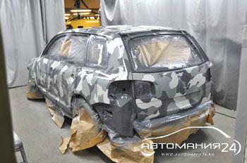 кузовной ремонт Toureg 20