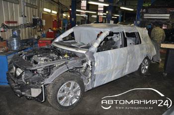 кузовной ремонт Toureg 21